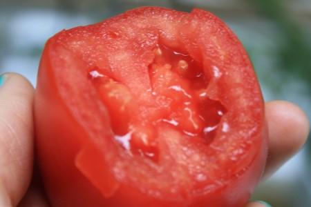 Sorte Savantas: milde Säure, weniger Flüssigkeit - höherer Fruchtfleischanteil